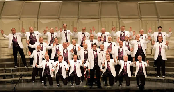 Riverblenders Chorus live at Rochester